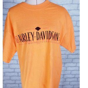 Harley Davidson Vintage Dealership Graphic Tshirt